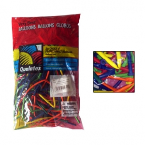 Qualatex - 260Q (100) Carnival colours
