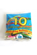 Swan Modelling Balloon Kit (10 Qty)