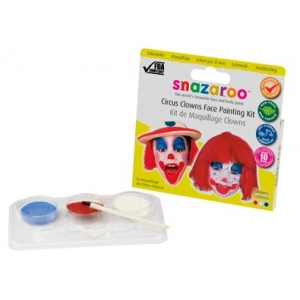 Snazaroo Theme Pack - Circus Clowns