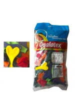 "Qualatex - 6"" (100) Heart Carnival"