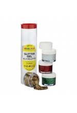 Snazaroo Glitter Gel Tube B  4 x 8ml pots of glitter gels