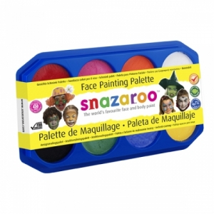 8 colour 18ml Snazaroo Palette