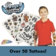 Transfer Tattoos for Boys (Qty 50+)