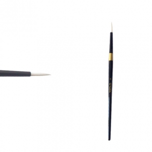 Create Brush - Size 6 Round Blk Gold