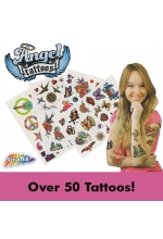 Transfer Tattoo Art for Girls (Qty 50+)